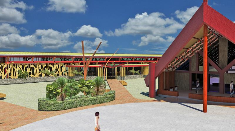 Institution Marae project