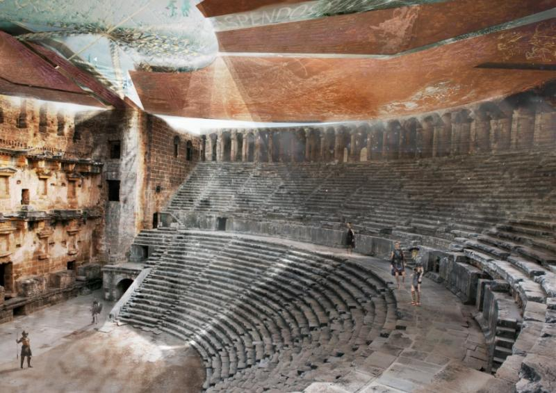 Educational Shelter of Aspendos Theatre